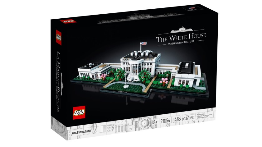 Lego Architecture The White House