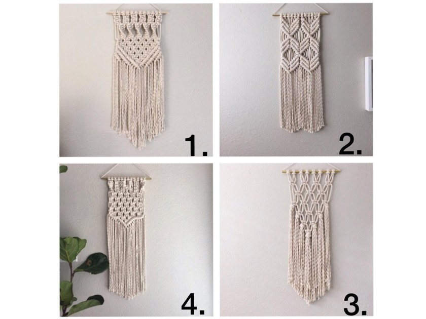 Macrame wall hanging kits by ReformFibers