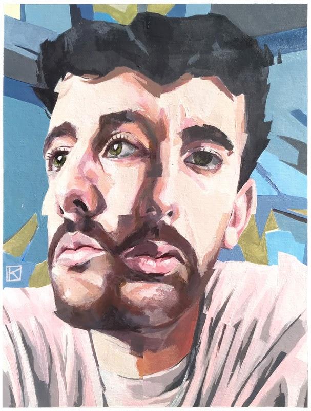 Mister Kaikus Juan Ruiz portrait painting