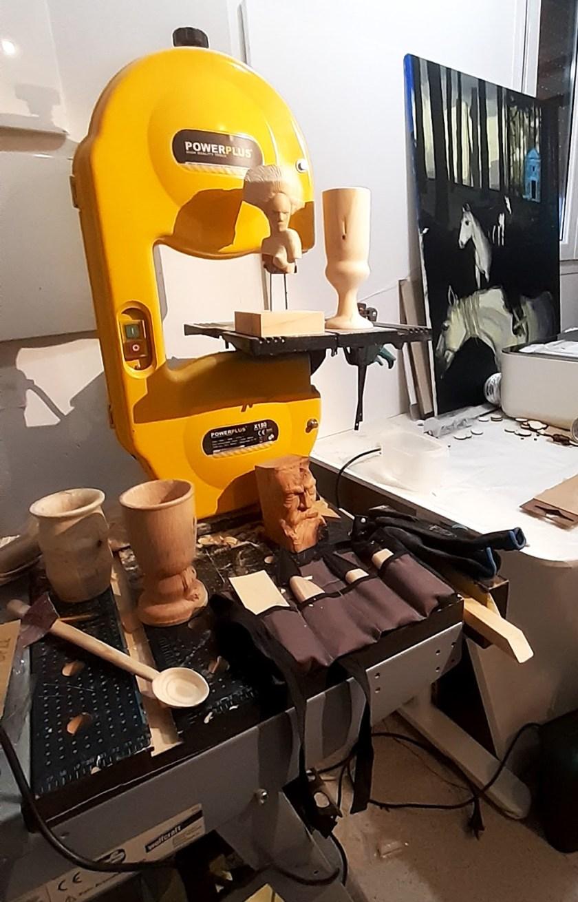 Mister Kaikus wood carving workshop