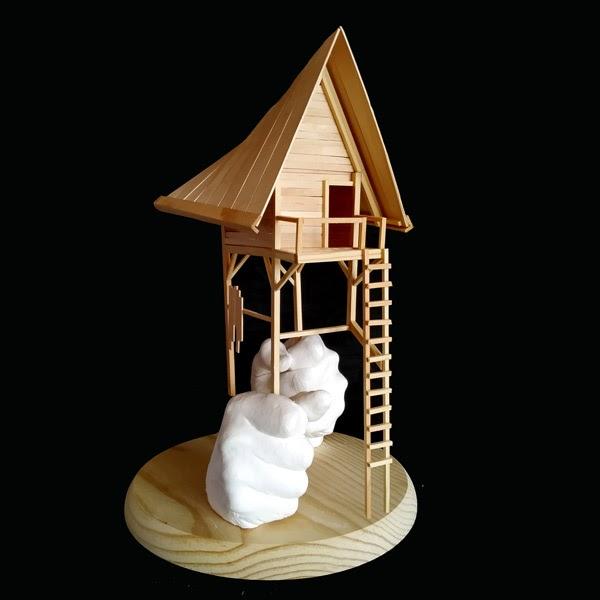 Mister Kaikus wooden sculpture