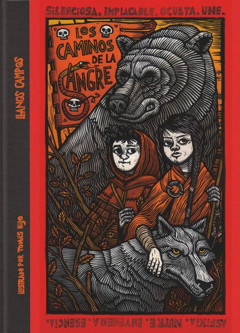 Tomas Hijo book Los Caminos de la Sangre