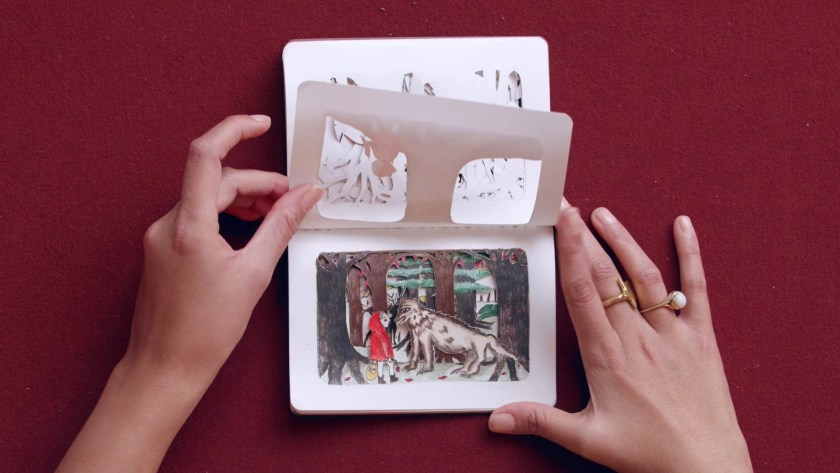Paper cutting techniques for storytelling