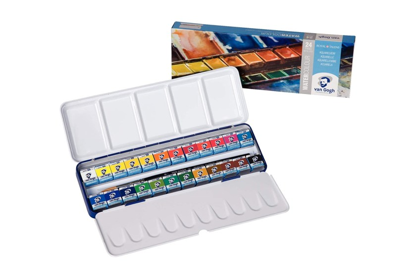Van Gogh Watercolor set for beginners