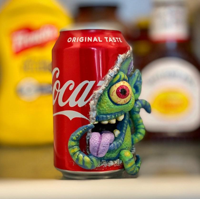 Steve-Casino-Coke-can-monster-art