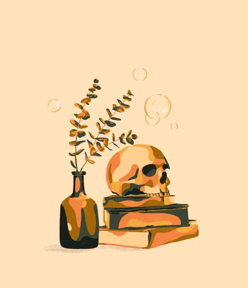 Still Life Skull maus haus