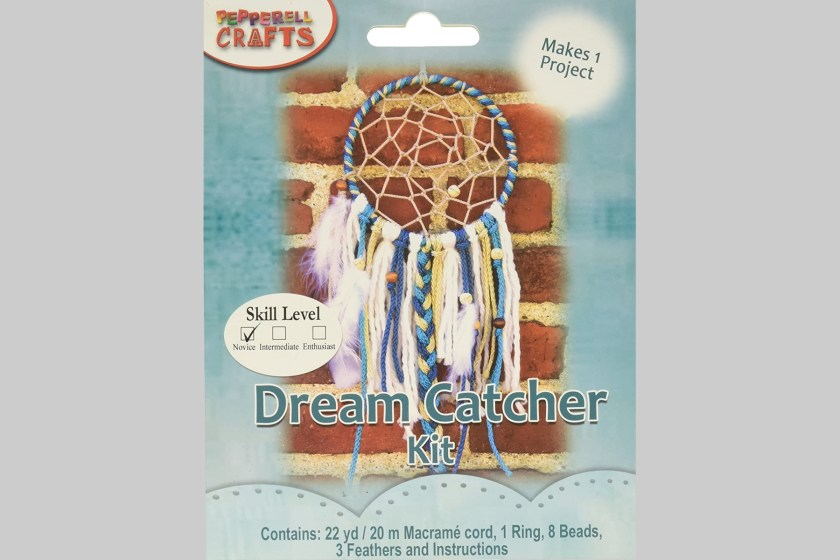 Pepperell Crafts Macrame Dream Catcher kit
