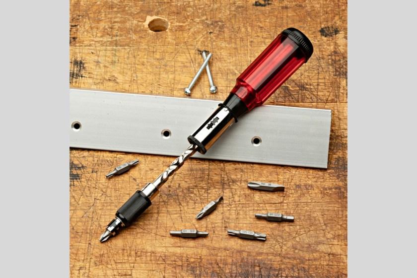 Yankee screwdriver plastic handle