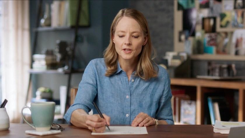 Jodie Foster Teaches Filmmaking MasterClass