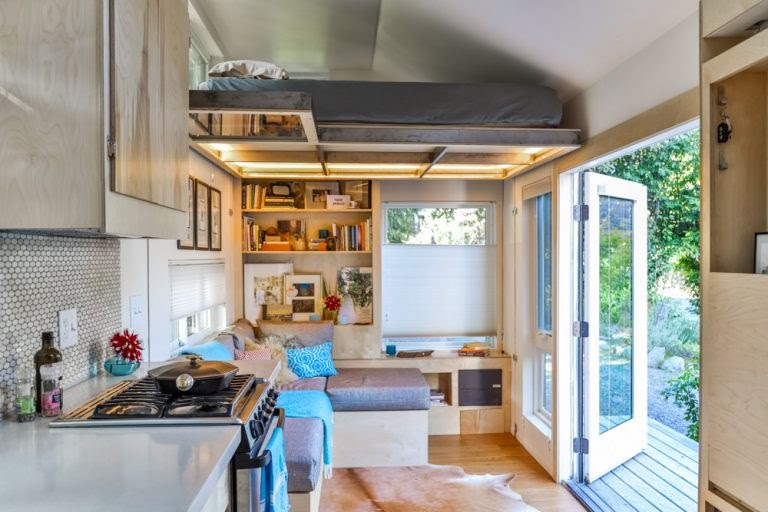 Kari Gale Tiny House interior