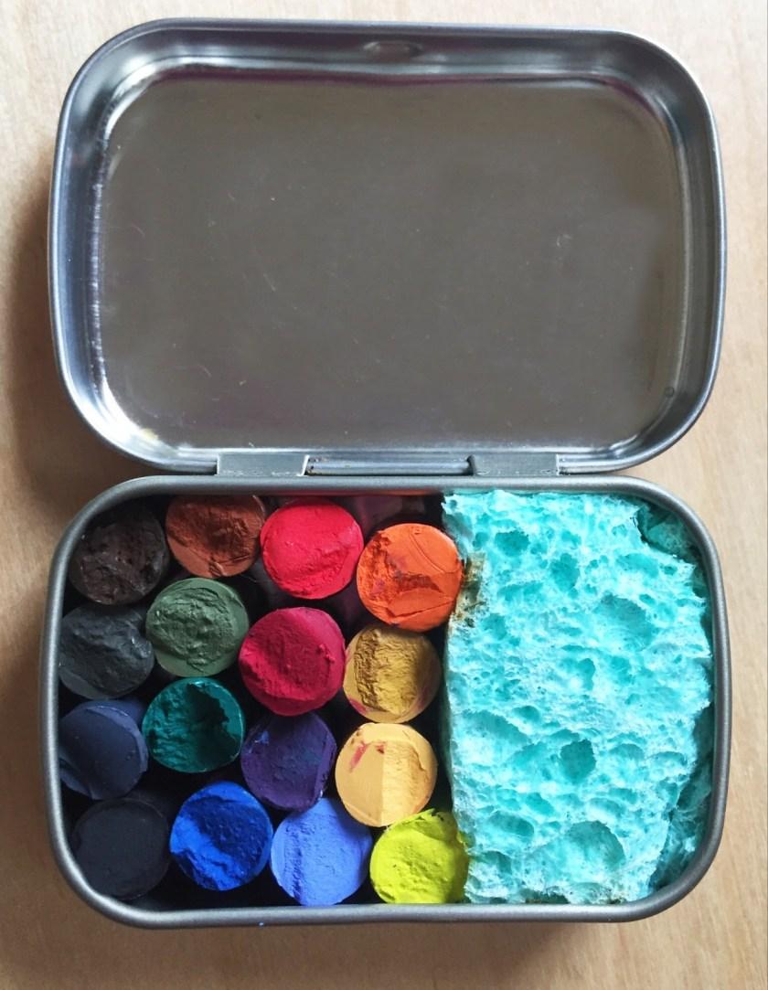 Kari Gale altoids watercolor travel set