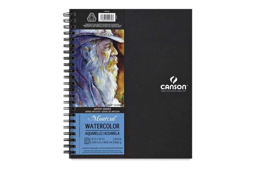 Canson artist series watercolor sketchbook