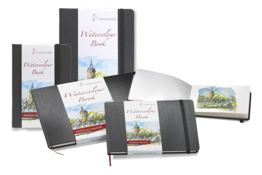 Hahnemuhle watercolor journals