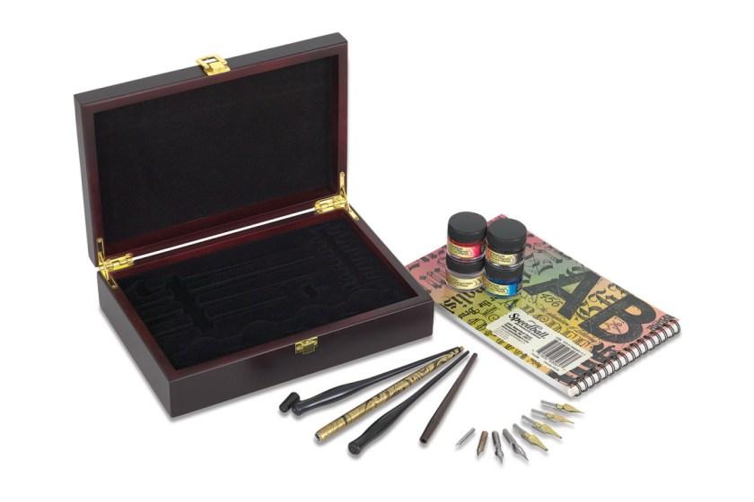 Speedball collector's box calligraphy set