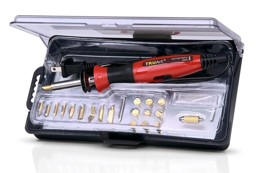 TRUArt Stage 1 wood and leather burning kit