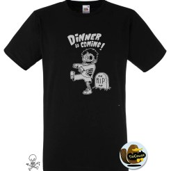 T-shirt-TioCouac-dinner-fruit-noir