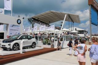 BMW stand