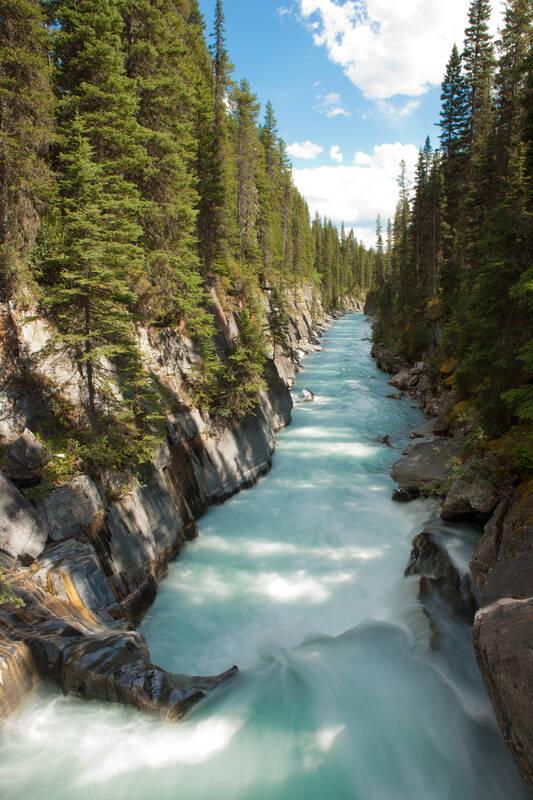 Numa Falls Canada Wallpaper Bezienswaardigheden Kootenay Np British Columbia