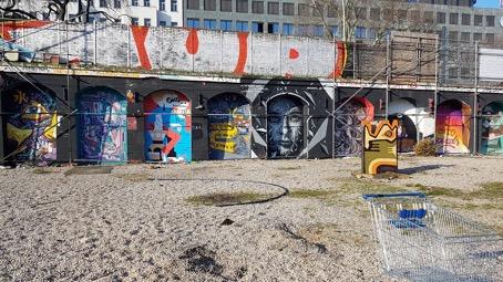 Urbexen Berlijn Haus Schwarzenberg