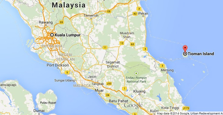 How to go to Tioman Island from Kuala Lumpur