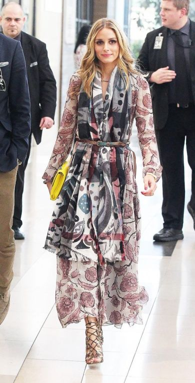 InStyle's Look of the Day picks for August 30, 2014 - Olivia Palermo in Burberry Prorsum