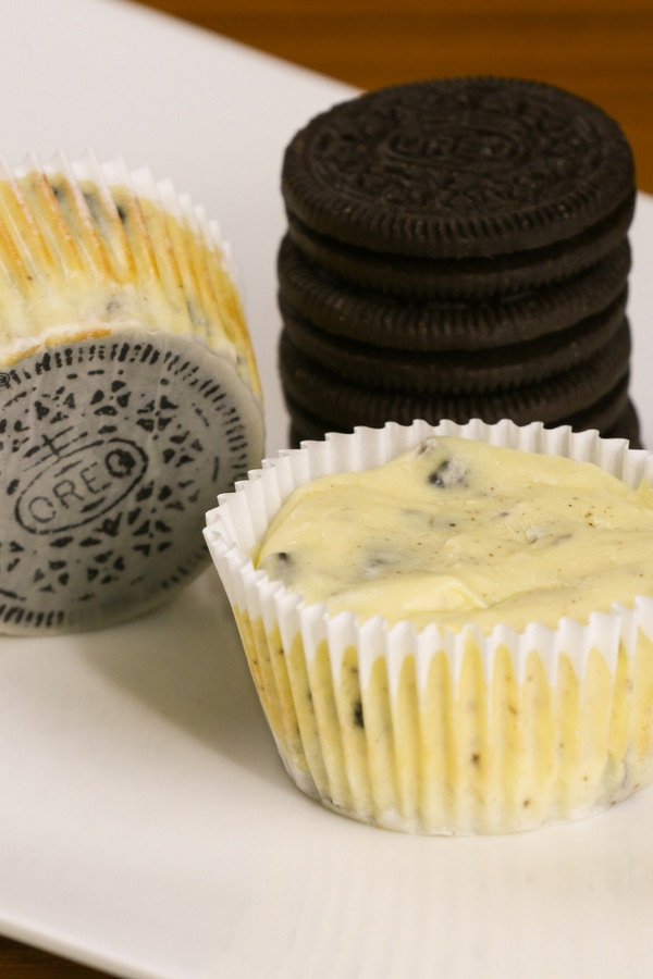 Mini Oreo Cheesecake Cupcakes So Delicious And Super Easy To Make With Only 6 Simple