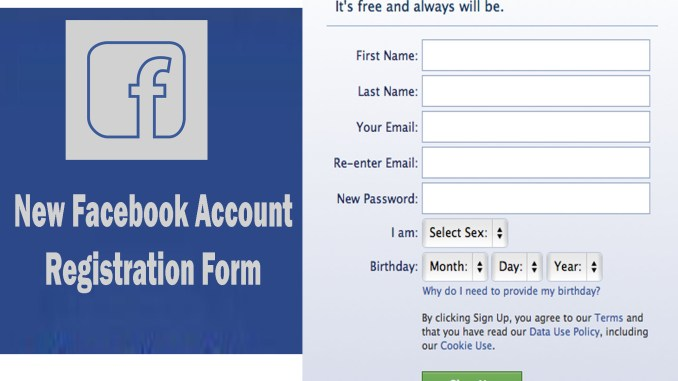 watch watch cheapest Create New Facebook Account Registration Form - How to ...