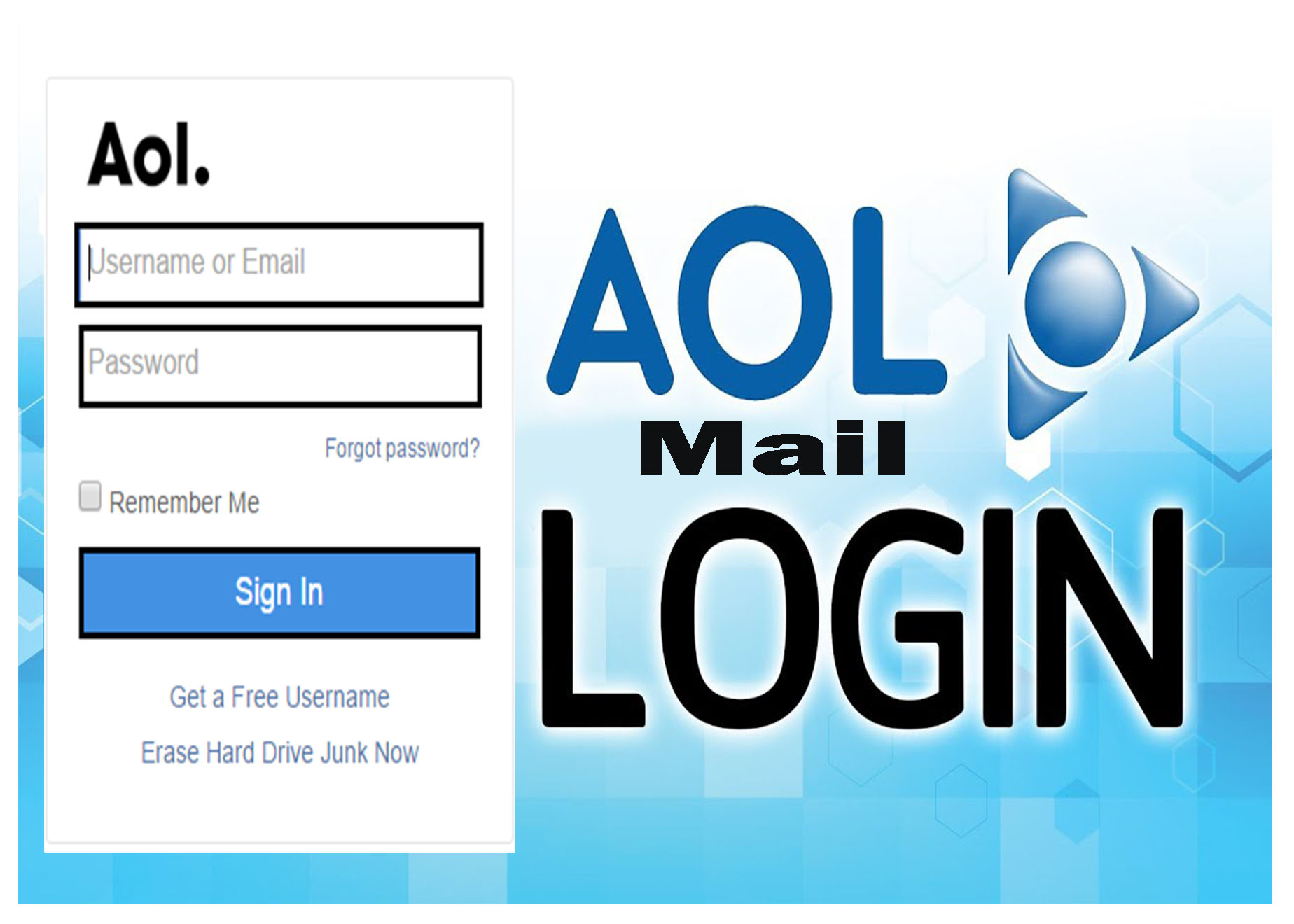 Aol Mail Login Sign In To Aol Mail Create Aol Email Account On Aol Com Tipcrewblog