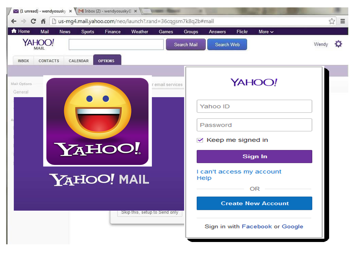 Yahoo Mail Login Page - Sign in to Your Yahoo Account