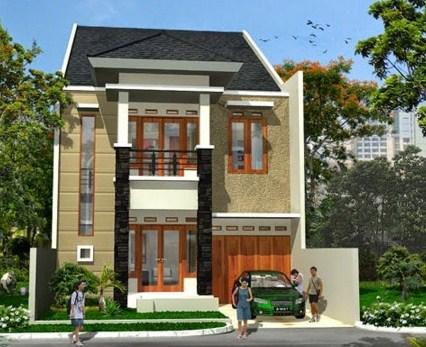 Contoh Rumah Type 36 2 Lantai