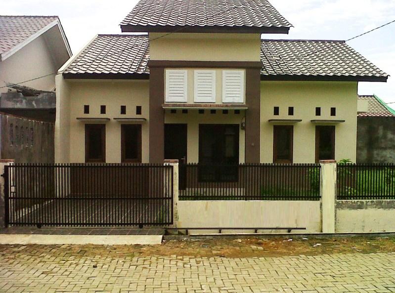 Desain Rumah Minimalis Type 36 Dua Warna