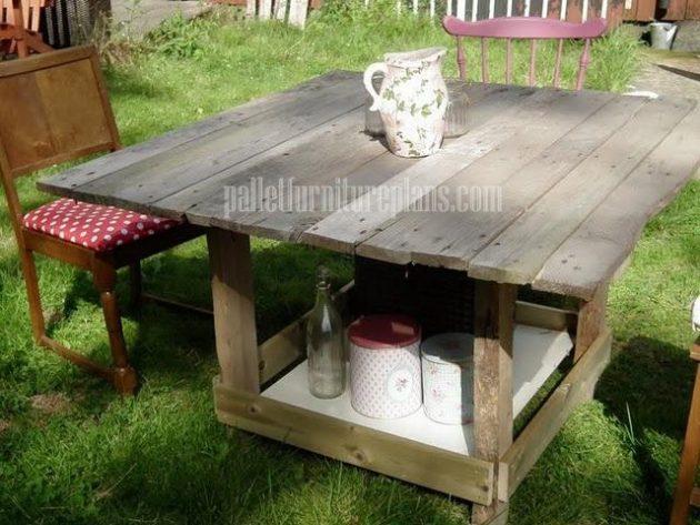 Contoh Meja untuk Luar Ruangan