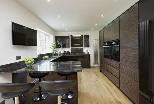Kitchen Cabinet Modern Mewah Tren 2016