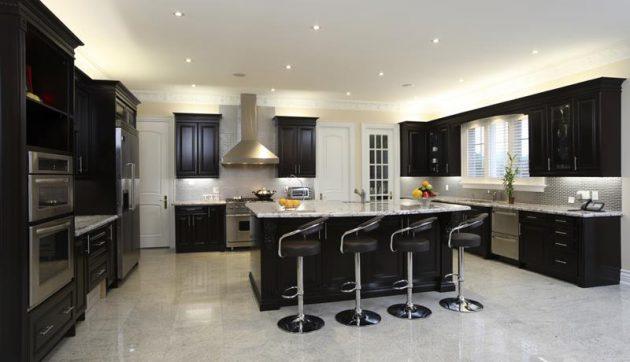 Opsi Gaya Lantai untuk Kitchen Minimalis