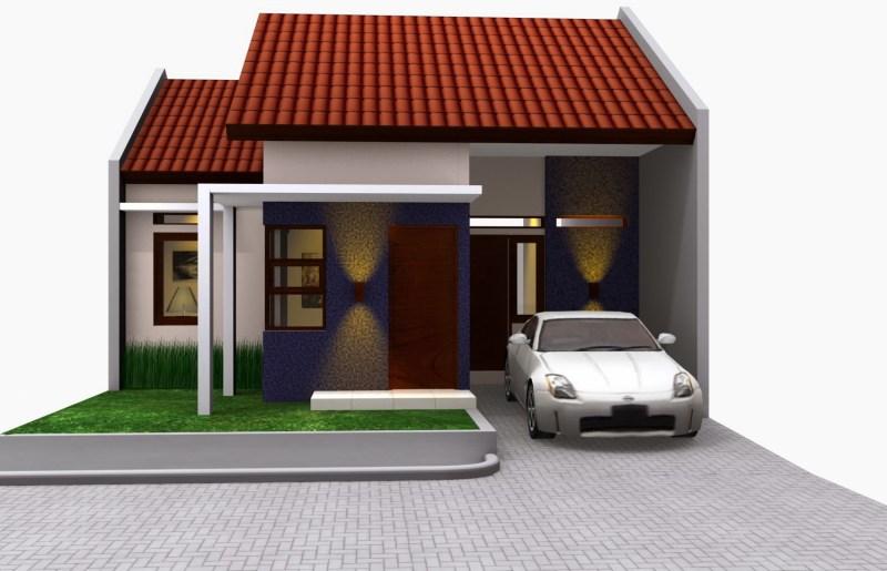 Bentuk Denah Rumah Minimalis Type 21