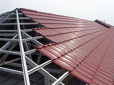 Model Atap Genteng Metal