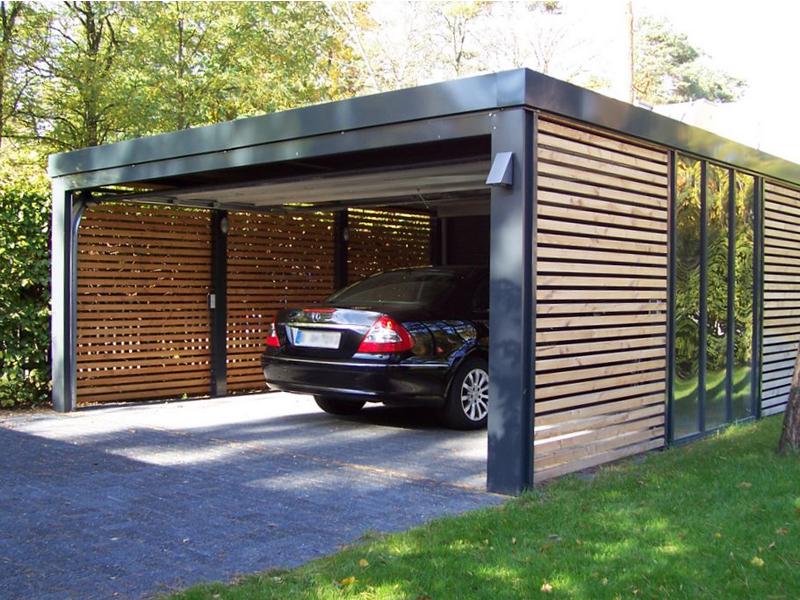Desain Garasi Mobil Depan Rumah