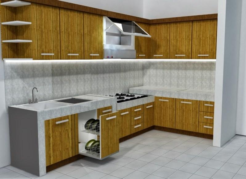 Furniture Pada Dapur Rumah Minimalis