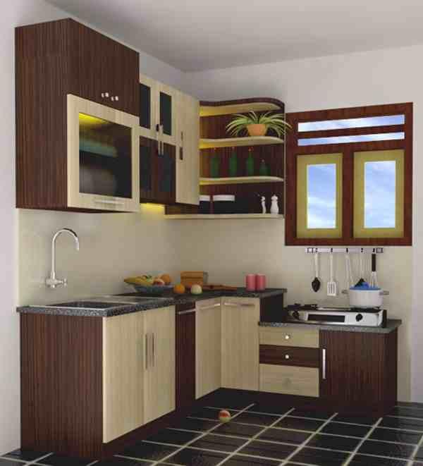 Model Dapur Rumah Kecil Masa Kini