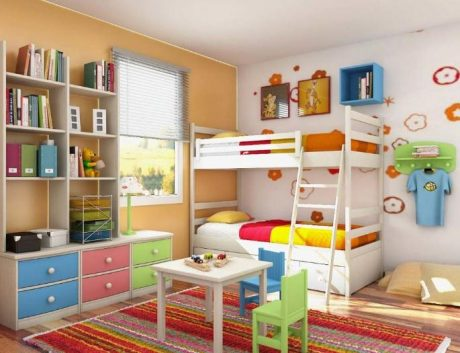 Desain Kamar Anak Ruang Sempit