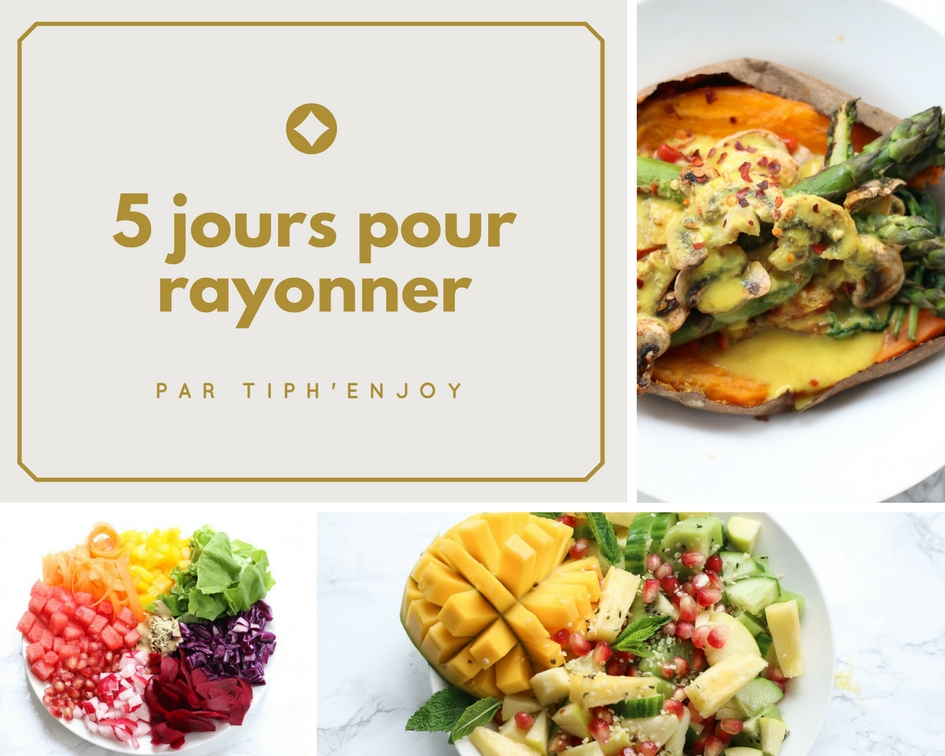 5 jours pour rayonner couverture