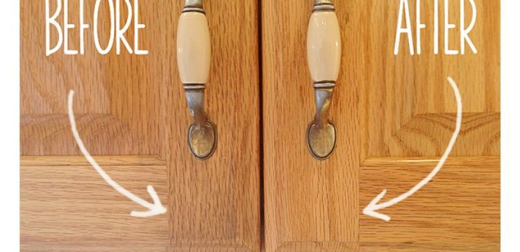 how to clean and shine kitchen cabinets secret to cleaning gunky kitchen cabinets tiphero 9325