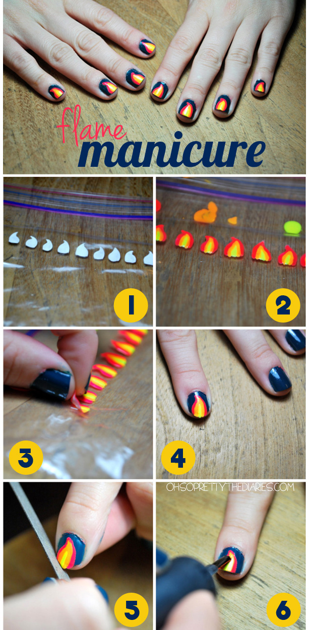 10 Paint On Your Own Nail Decals