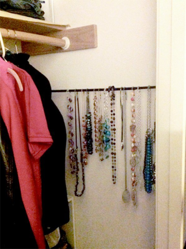 24 Insanely Awesome Ways To Use Tension Rods In Your Home