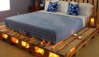 Pallet Bed With Lights Underneath | www.pixshark.com ...