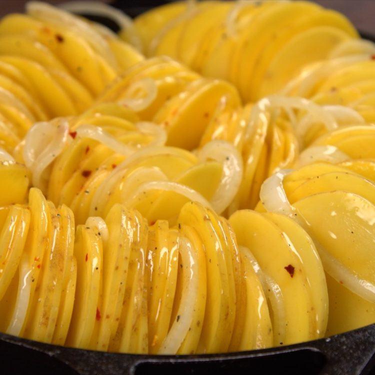 Roasted Potatoes - Arrange