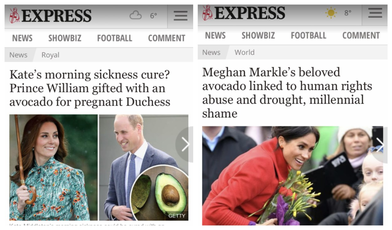 These 7 Headlines Show the Difference Between How the British Press Treats Meghan Markle vs. Kate Middleton