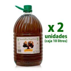 aceite linaoliva sin filtrar pet 5 l x 2 uds