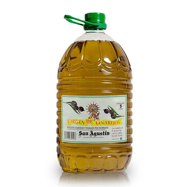 Aceite Linarejos, oliva virgen extra, pet 5 l