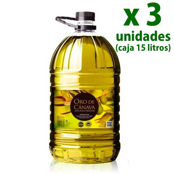 oro de cánava 15 litros aove